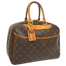 LOUIS VUITTON DEAUVILLE BUSINESS HAND BAG PURSE MONOGRAM M47270 VINTAGE A46895