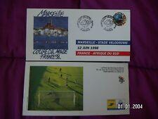7 Cartes 1er Jour Mondial 1998 Marseille Stade Vélodrome