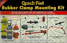 Quick Fist Rubber Clamp Mounting Kit 4x4 Campervan Cargo Boat Motorhome Tools