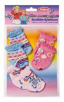 Puppen Kleidung 3er Set Söckchen Strümpfe Socken für 40 cm Puppen  873 Heless