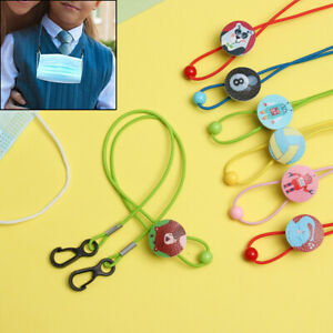 Anti-lost Cord Strap Kids Mask Lanyard Holder Face Mask Chain Neck Rope