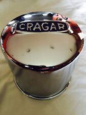 """Crager Wheel Push Thru Center Cap A-29271-1 NEW Chrome 4.5"""" Diameter for Rims"""