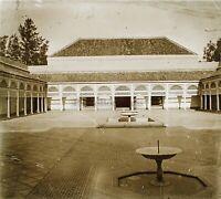 Marocco 1931 Palais Foto Stereo PL58L8n9 Placca Da Lente