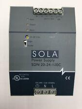 SOLA POWER SUPPLY SDN 20-24-100C