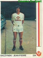 "234 RACZYNSKI JEAN-PIERRE AS.NANCY VIGNETTE STICKER FOOTBALL""78 LEON GLOWACKI"