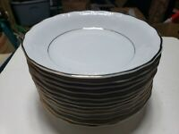"""Southington by Baum Empire pattern (12) 8.25"""" Soup Bowls,  Walbrzych Poland, EXC"""