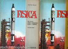 Silva P.; FISICA per gli I.T.C.A.F. , in 2 volumi ; Paravia 1965