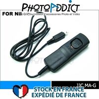 JJC MA-G_1000 - Télécommande filaire 10 mètres type Nikon MC-DC1