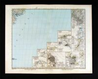 1890 Petermann Map  South America Cities Rio de Janeiro