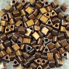 10 g de perles de rocaille  ref 2005 taille 11 Matte met dark raspberry iris