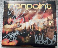 Nonpoint Miracle CD Case Signed by Entire Band Elias Soriano Rob Rivera Auto