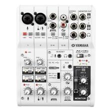 Yamaha AG06 Mixer and USB Audio Interface