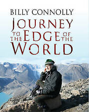 """AS NEW"" Journey to the Edge of the World, Connolly, Billy, Book"