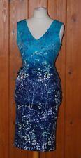 Per Una, M&S, Ladies, Turquoise, Bodycon, Party, Dress, size 10 (38)