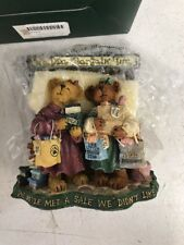 Boyds Bears Bearstone  PAM & KRISTI SHOPSALOT _Bargain Shop 228404 NEW