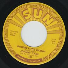 "Johnny Cash 7"" ""Goodbye Litte Darlin' / You Tell Me"" Sun 331, VG+"