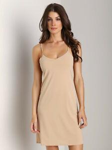Calvin Klein Invisibles Full Slip F3661E-20N Womens Smooth UK 12 Slip Dress