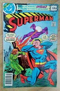 DC~SUPERMAN #334~VFn~Pence Variant~Bag/Board~
