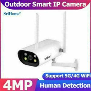 Sricam SH037 4MP IP Camera Night Vision CCTV Surveillance Support 5G WIFI