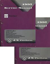 1997 Chevrolet ~ Geo Tracker ~ GM Factory Service Manual ~ J/E Platform ~ 2 vol.