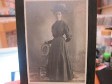 Antique Cabinet Card Portrait of Young Woman - 180mm x 130mm - Superb!!!!!