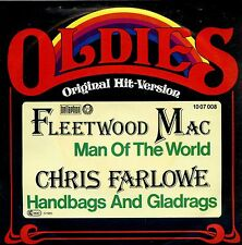 7inch FLEETWOOD MAC man of the world / CHRIS FARLOWE handbags and gladrags +PS
