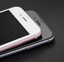 iPhone 7 PLUS 3D FULL COVER TITAN Schwarz Schutzglas Panzerfolie 9H TITANIUM