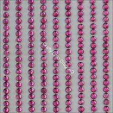 1760 x 2mm PINK  Rhinestone Diamante Stick On Self Adhesive Strip GEMS Diamonte