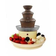 Fontana di cioccolato  con vassoio per frutta