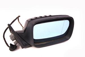 rechter Außenspiegel original 3er BMW E46 Cabrio Coupe dunkelblau Spiegel rechts