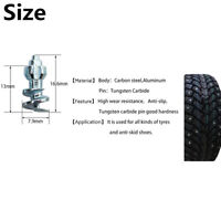 50PCS Big Size Studs Screw Snow Spikes Wheel Tyres For Motorcycle Bike Tires