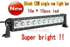 24 inch 100W Curved CREE single row led light bar of off road truck UTE SUV 4WD