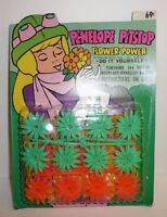 Vtg 1971 Penelope Pitstop Hanna Barbera Wacky Races Toy Set Flower Power Jewelry