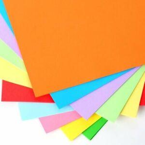 Tonpapier/Tonkarton (53 Farben wählbar / A4-21,0 x 29,7 cm - 130 g/m2-10 Blatt)