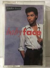 Baby Face : Tender Lover - Cassette Tape 1989 Solar