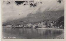 Cartolina Jugoslavia Croazia Makarska 1936