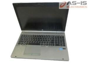 "*AS-IS* HP Elitebook 8570P 15.6"" i7-3520M 2.9GHz 8GB RAM 500GB HDD Laptop"