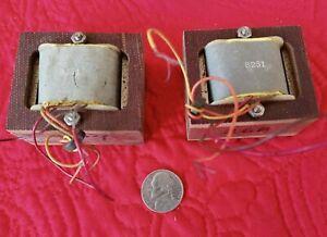 Jensen 8251 1:1 Audio Line Transformers (2)  Isolation Matching !  Vintage Audio