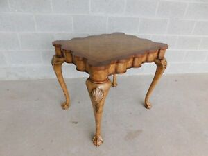 """Maitland Smith Chippendale Style Accent Table 30""""W"""