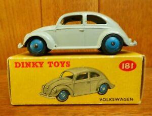 Dinky Toys 181 Volkswagen (boxed) - VW Beetle