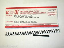 """WOLFF™ """"REDUCED POWER"""" 14 POUND RECOIL SPRING fits 1911/A1 .45  ACP PISTOL Auto"""