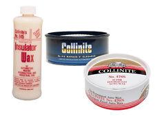 Collinite 476 Doublecoat Wax, 845 Insulator Wax & 915 D'Elegance Wax Combo Pack