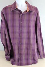 J Garcia Jerry Men's Dress Button Up Shirt Size 2XLT
