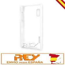 """Carcasa p/ LG OPTIMUS L5 P610 Rígida, color BLANCO """"DESDE ESPAÑA"""" Nuevo s54"""