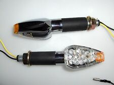 ►4X KTM LC4 400,600-C4S,600 EGS-E,LC4 640 LED CHROM DEVIL OPTIK BLINKER KLAR