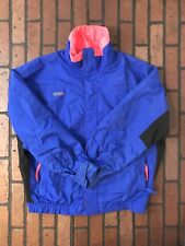 Columbia Snow Ski Jacket Royal Blue With Pink Accent Size Large Mens