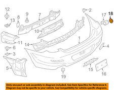 BMW OEM 10-18 X5 Rear Bumper-Park Sensor Ring 66209142107
