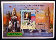 BELIZE 1985 British Post Office Unissued with Concorde U/M NQ374