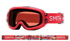 SMITH YOUTH FIT S/M OPTICS GAMBLER SKI GOGGLES - FIRE TRANSPORTATION / RC36