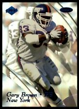 1999 Collector's Edge Masters Gary Brown 2620/5000 New York Giants #123